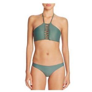 Mikoh Green Bikini Set Sz XL